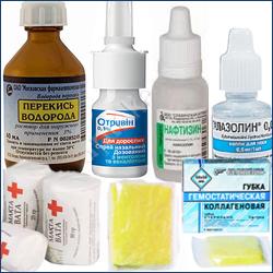Как остановить кровь из носа первая помощь если кровь идет без остановки, как правильно остановить