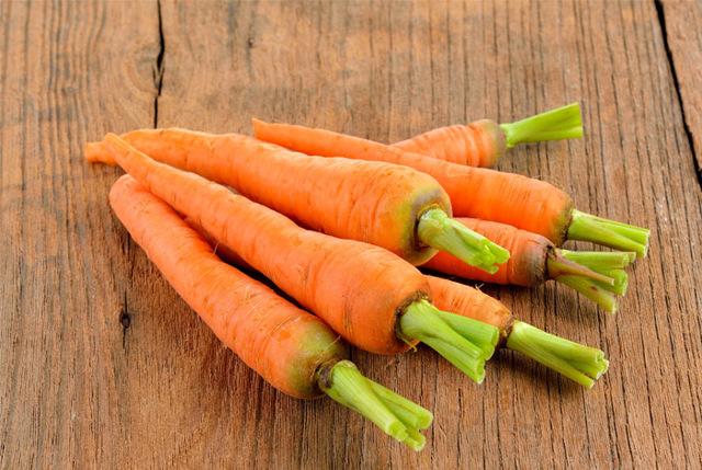 Морковь для очистки сосудов и крови