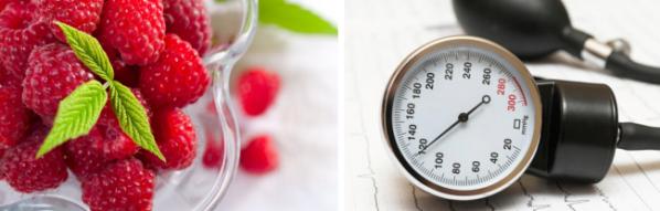 Как малина влияет на артериальное давление, повышает или понижает, отзывы