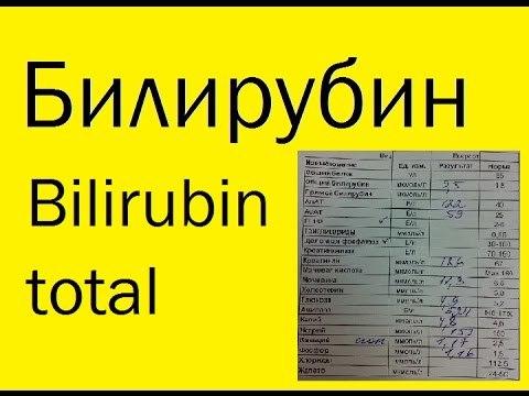 Билирубин в крови у мужчин: норма, по возрасту, таблица, расшифровка