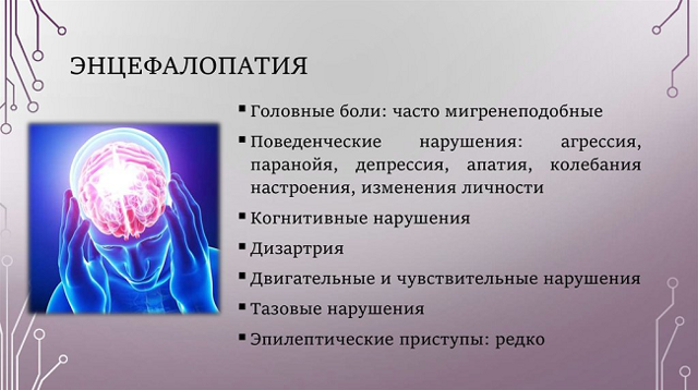 Сосудистая энцефалопатия головного мозга: что это такое, симптомы, прогноз для жизни