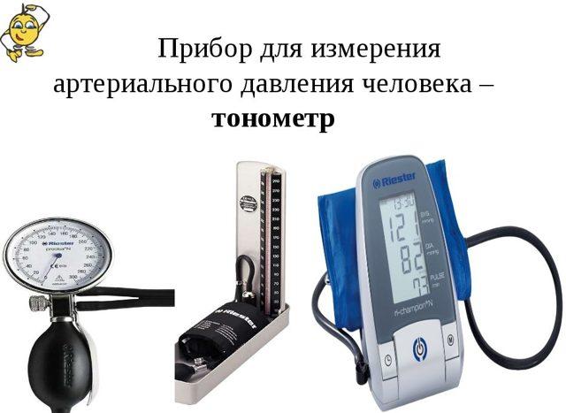 В каких единицах измеряют артериальное давление