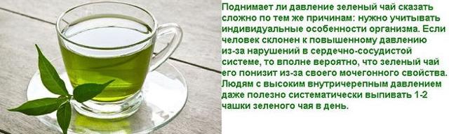 Повышает или понижает давление зеленый чай: свойства напитка, как влияет на АД, можно ли пить при гипертонии