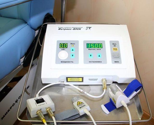ВЛОК - внутривенное лазерное облучение крови: показания и отзывы