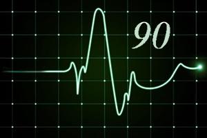 Пульс 90 ударов в минуту в состоянии покоя: это нормально или нет, что делать